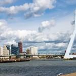 The Erasmusbrug in Rotterdam, The Netherlands