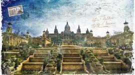 Palau Nacional, Barcelona, Spain | Forgotten Postcard