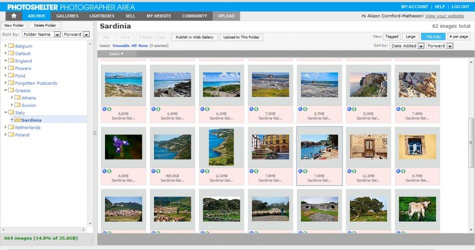photoshelter archive