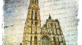 Cathedral of Our Lady, Antwerp, Belgium | Forgotten Postcard