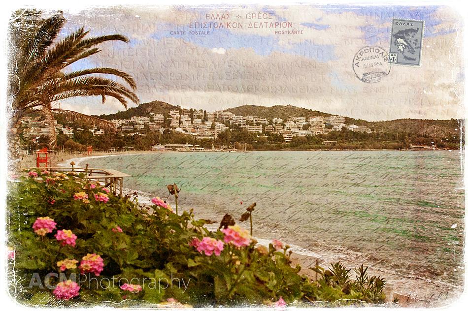 Vouliagmeni, Greece - Forgotten Postcard
